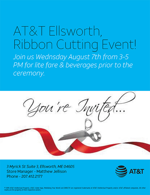 AT&T Ellsworth Ribbon Cutting Event